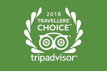 Trip Advisor 2018 Travellers Choice Award